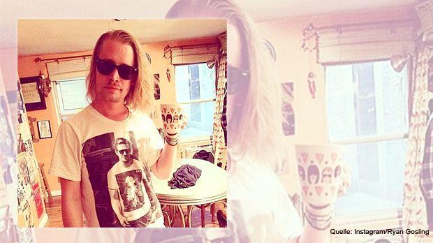 Macaulay-Culkin-Ryan-Gosling-Instagram - Bildquelle: Instagram/Ryan Gosling