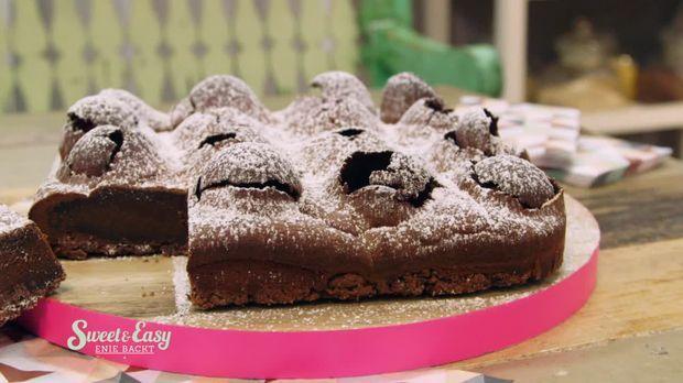 Phantastische Schokokuss Torte
