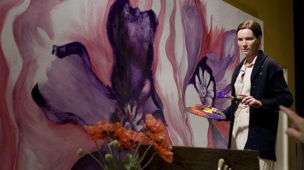 Die Größe, die Georgia O'Keeffe (Joan Allen) dank Alfred Stieglitz erlangt, i...