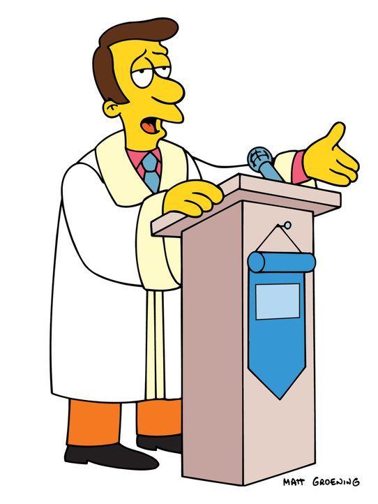 (15. Staffel) - Der Priester von Springfield, Timothy Lovejoy, steht immer wieder vor dem Problem, seine Schäfchen in Zaum zu halten ... - Bildquelle: und TM Twentieth Century Fox Film Corporation - Alle Rechte vorbehalten