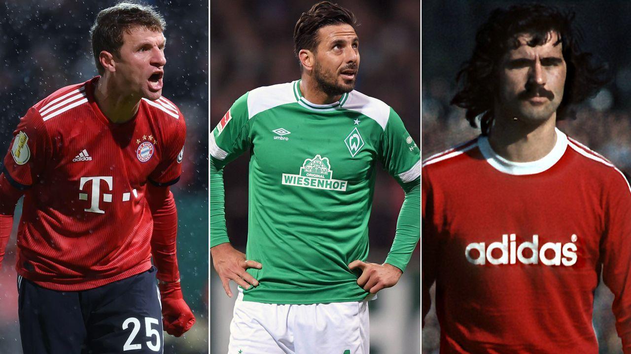 Top 10: Die Rekordtorschützen im DFB-Pokal - Bildquelle: Imago