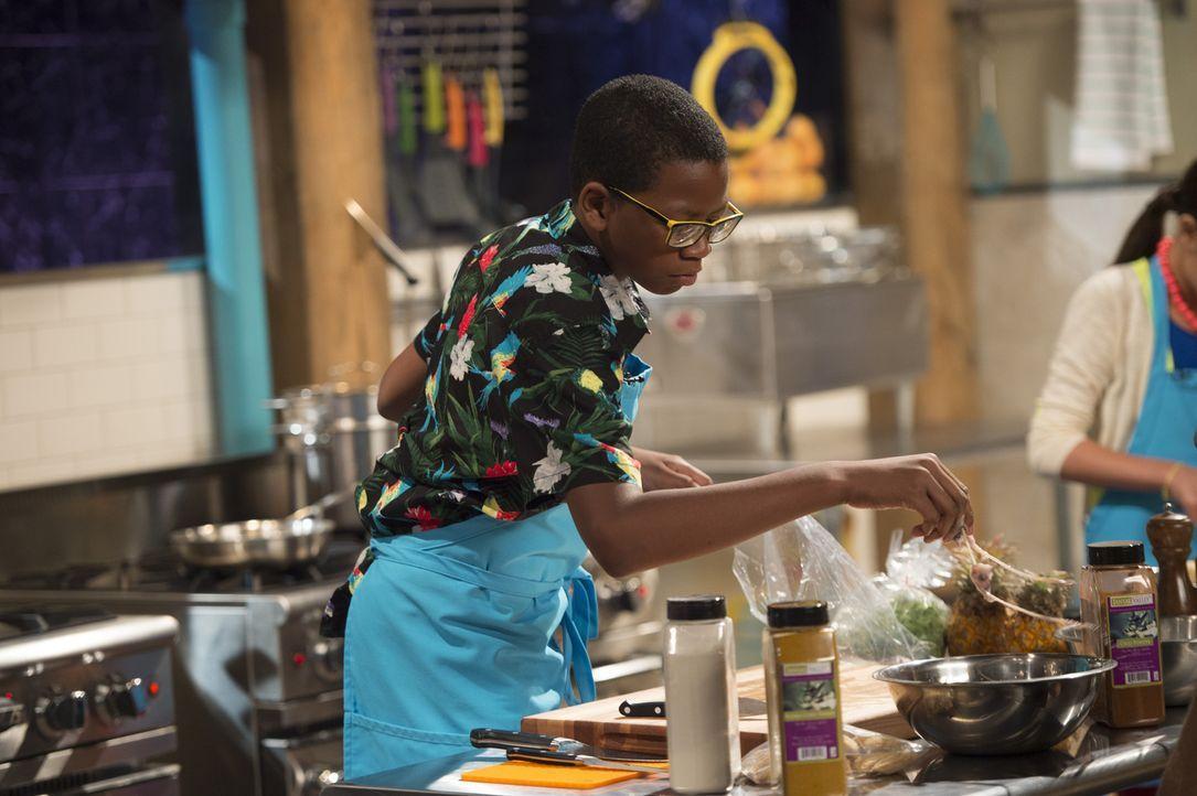 Wird der elfjährige Marcus aus Manhattan die erste Runde überstehen? - Bildquelle: Scott Gries 2015, Television Food Network, G.P. All Rights Reserved
