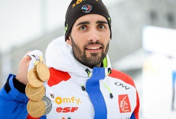 Der Biathlon-Weltcup hat Vorrang für Martin Fourcade
