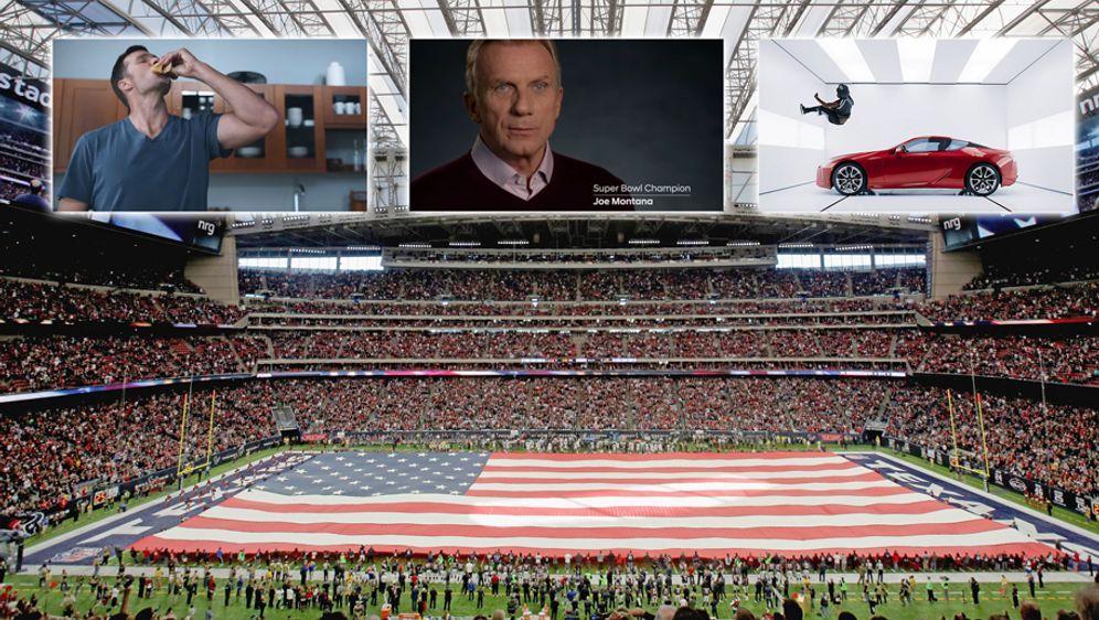 Auch ein Highlight beim Super Bowl: Die Unternehmen werben mit speziellen Sp... - Bildquelle: 2017 Getty Images, Youtube