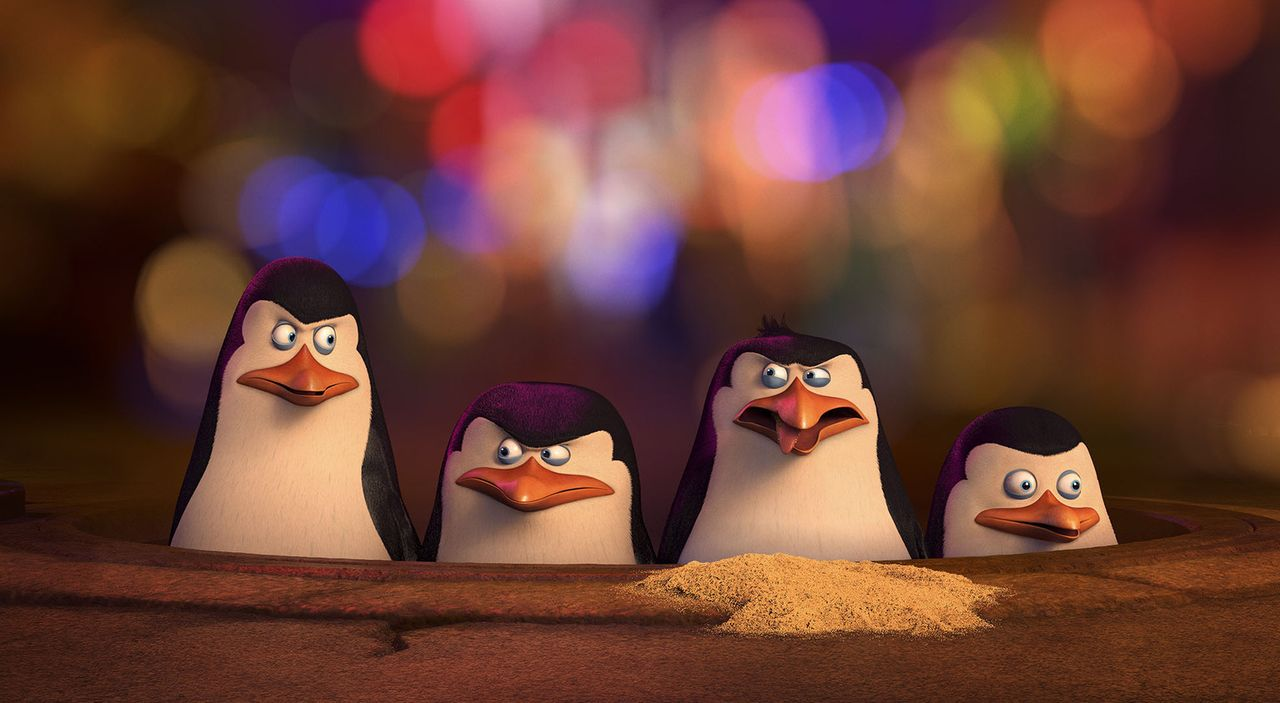 Pinguine von Madagaskar - Bildquelle:  2014 DreamWorks Animation, L.L.C. All rights reserved.