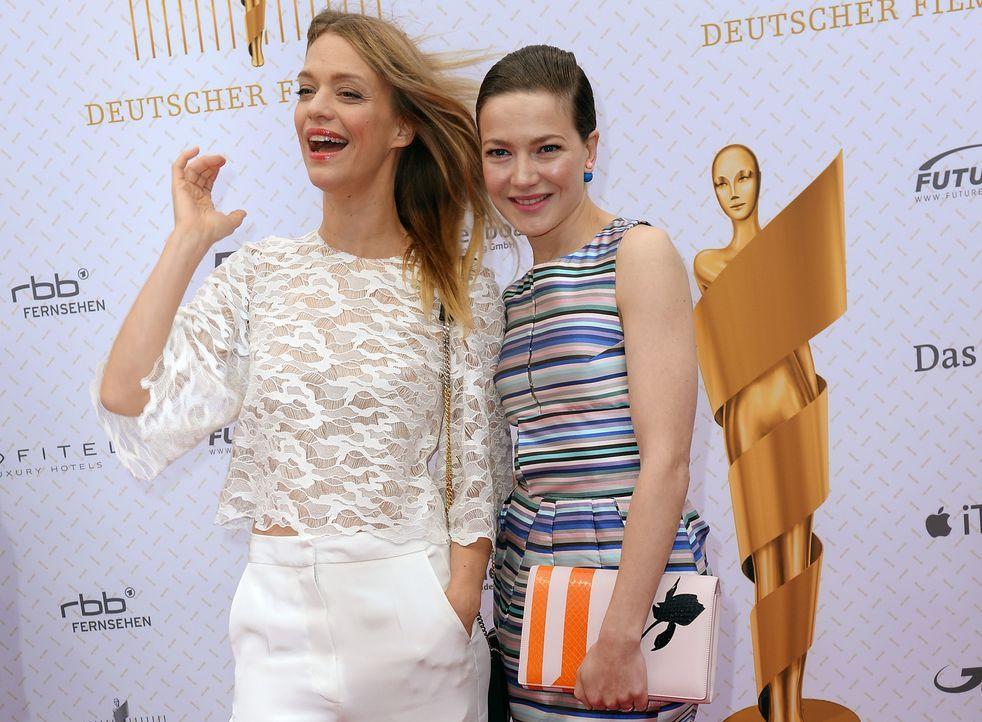 Deutscher-Filmpreis-Lola-Heike-Makatsch-Hannah-Herzsprung-140509-dpa - Bildquelle: dpa