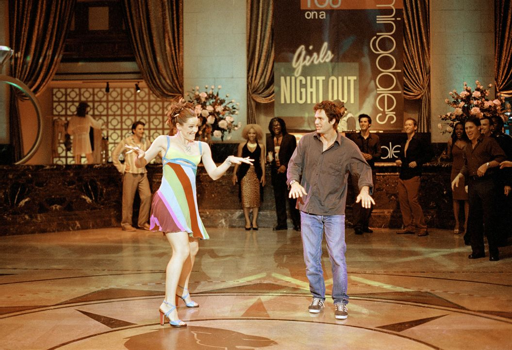 Kann Jenna (Jennifer Garner, l.) 17 Jahre später Matts (Mark Ruffalo, r.) Liebe zurückgewinnen? - Bildquelle: Sony Pictures Television International. All Rights Reserved.
