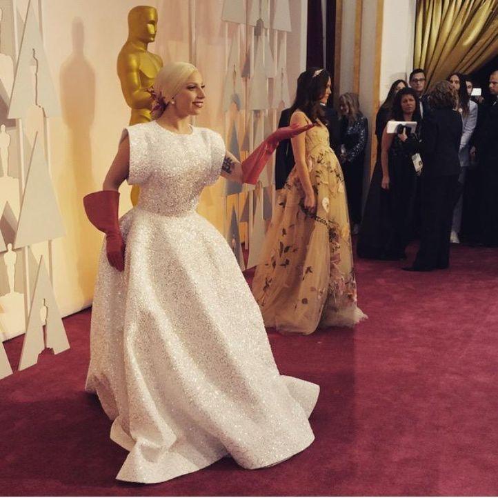Lady Gaga; instagram.com/theacademy