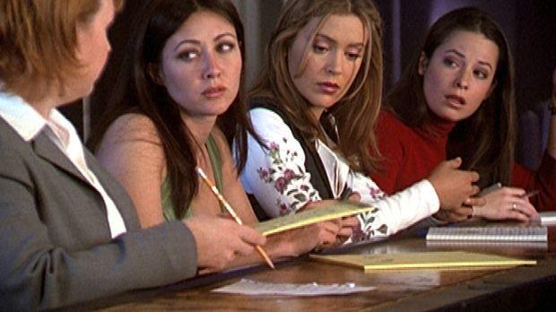 (v.l.n.r.) Natalie (Audrey Wasilewski) hat das Amt von Leo übernommen. Prue (...