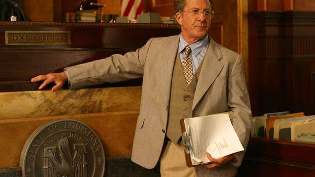 Der moralisch integre Anwalt der Klägerin, Wendall Rohr (Dustin Hoffman), häl...