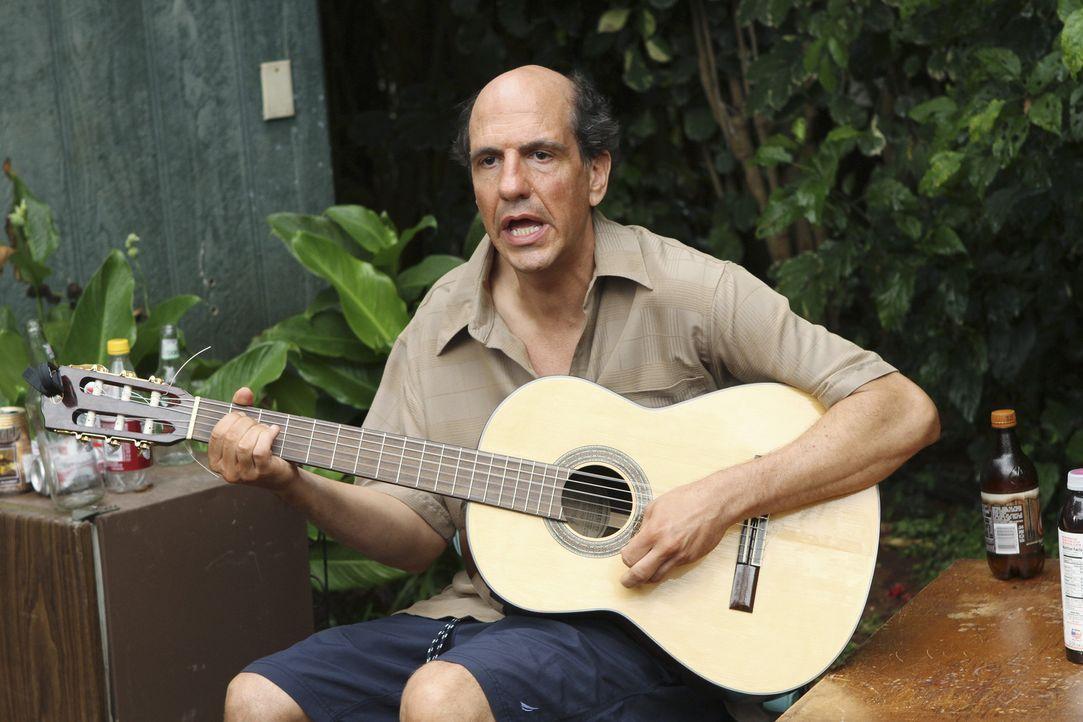 Travis' ganz spezieller Freund auf Hawaii: Ted (Sam Lloyd) ... - Bildquelle: 2010 ABC INC.