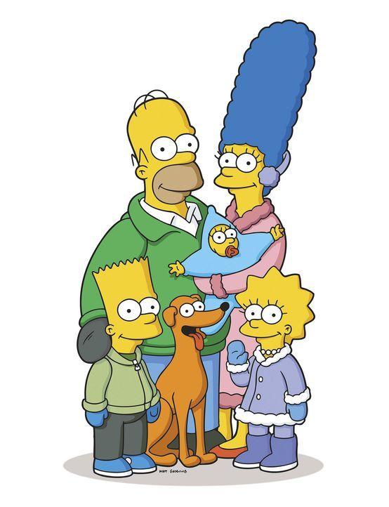 Familie Simpson feiert Weihnachten ... - Bildquelle: 2007FOX BROADCASTING