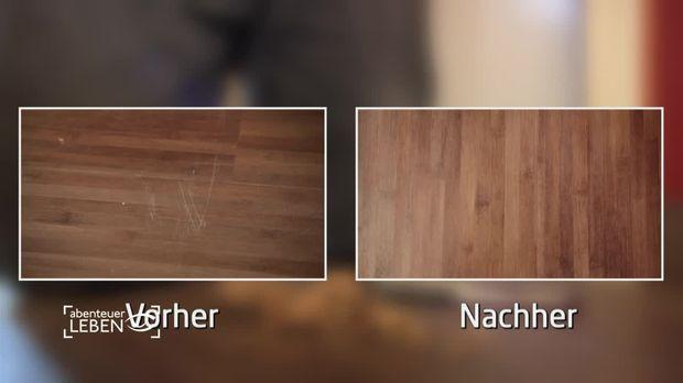 life hacks kratzer aus laminat entfernen. Black Bedroom Furniture Sets. Home Design Ideas