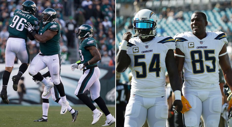 Defense: Philadelphia Eagles/ Los Angeles Chargers - Bildquelle: Getty 2017