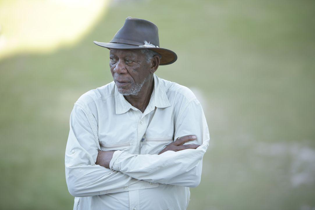 Hollywood-Legende Morgan Freeman erzählt die Geschichte Gottes. Der 79-Jährige nimmt die Zuschauer mit auf eine spannende Reise zu den verschiedenst... - Bildquelle: 2016 NGC Network US, LLC and NGC Network International, LLC All Rights Reserved