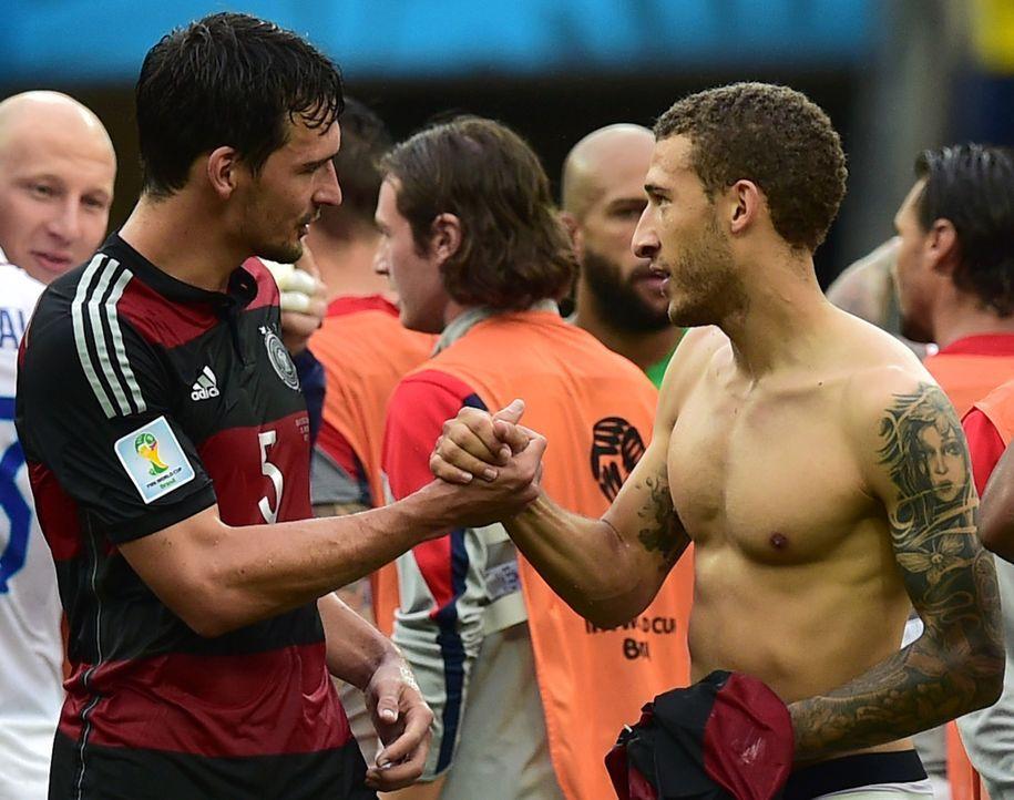 FIFA-World-Cup-Mats-Hummels-Fabian-Johnson-14-06-26-AFP - Bildquelle: AFP