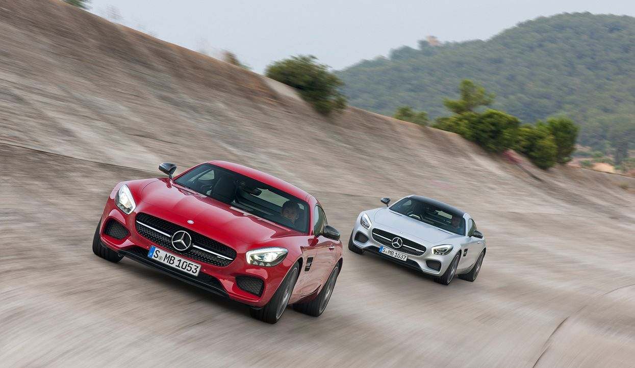 Mercedes AMG GT (8) - Bildquelle: press photo, do not use for advertising purposes