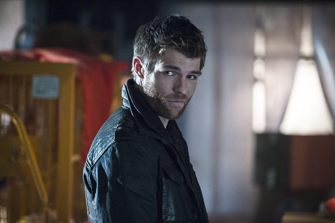 Mark Mardon alias Weather Wizard (Liam McIntyre) kehrt nach Central City zurück, um alte Freunde aus dem Hochsicherheitstrack zu befreien ... - Bildquelle: 2015 Warner Brothers.