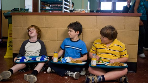 Gleich am ersten Tag in der Mittelstufe müssen Greg Heffley (Zachary Gordon,...
