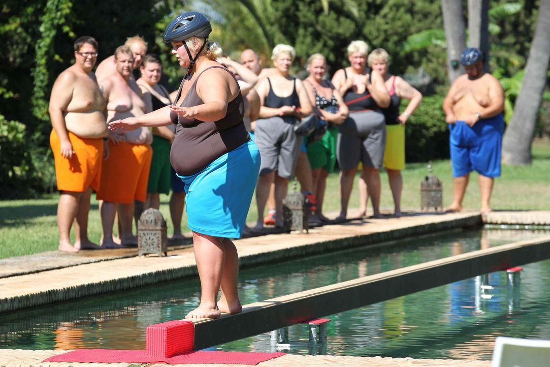 Bei den Wettkämpfen ist voller Körpereinsatz gefragt. Die Kandidaten müssen sich jede Woche aufs Neue beweisen. Schließlich geht es ja nicht nur... - Bildquelle: Enrique Cano SAT.1