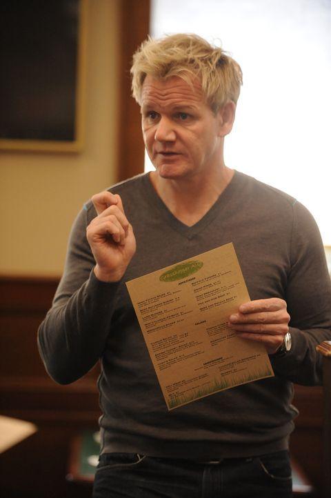 """Retter in Not: Gordon Ramsay besucht heute das Restaurant """"Grasshopper Also"""" in Carlstadt in New Jerse, dessen Besitzer um das Überleben des Lokals... - Bildquelle: Fox Broadcasting.  All rights reserved."""