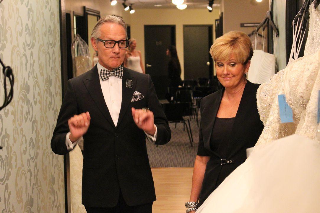 Monte (l.) und Lori (r.) haben mal wieder mit Unstimmigkeiten zwischen Braut und Brautmutter zu kämpfen ... - Bildquelle: TLC & Discovery Communications