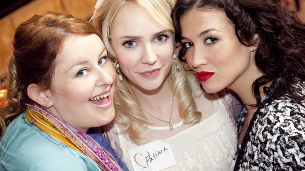(3. Staffel) - Fatima Prins (Bracha van Doesburgh, M.), Stella Deporter (Katj...