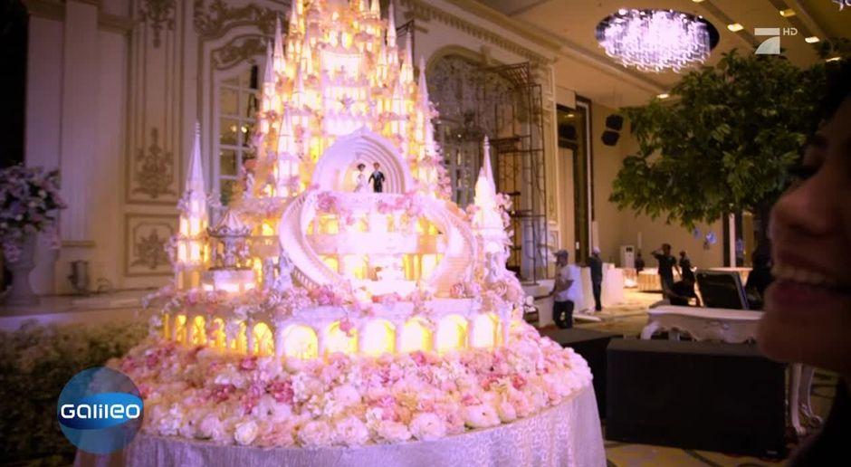 Die Hochzeitstorten Der Superlative