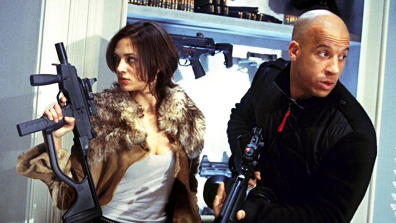 "Vin Diesel in ""Triple X"" - Bildquelle: dpa"