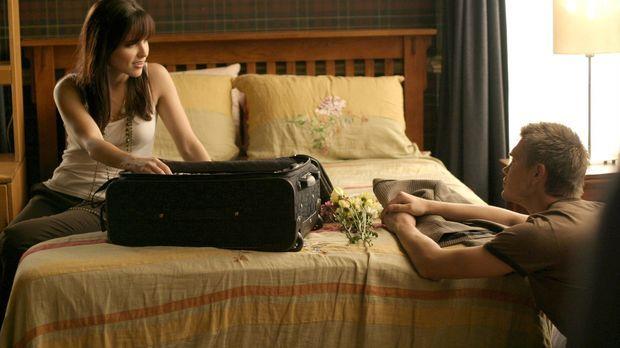 Sofort nach ihrer Ankunft fährt Brooke (Sophia Bush, l.) zu Lucas (Chad Micha...
