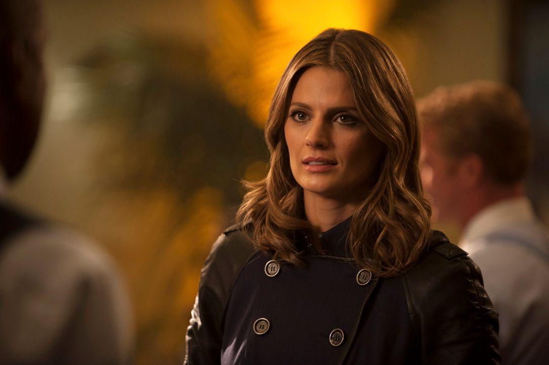 Als ein Billardprofi mit seinem eigenen Queue ins Jenseits befördert wird, steht Kate Beckett (Stana Katic) vor einem Rätsel: Es sieht ganz so aus,... - Bildquelle: Colleen Hayes ABC Studios