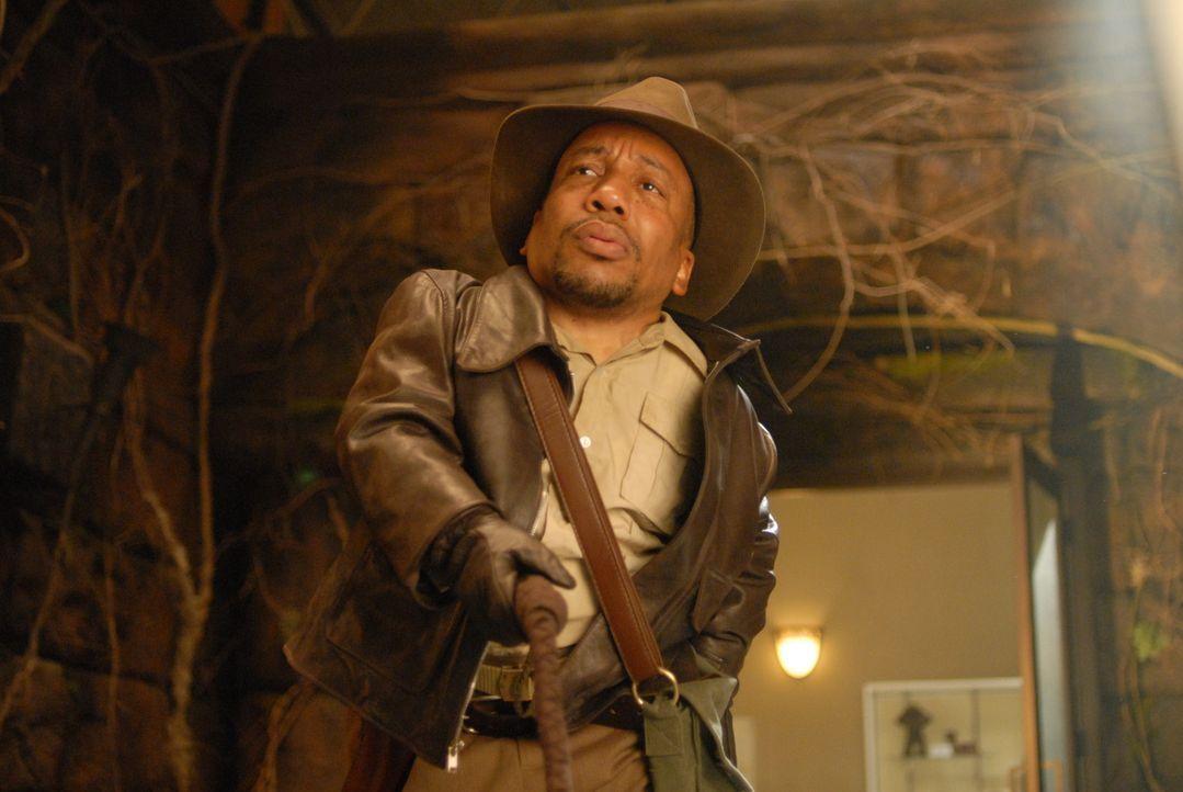 Wer hätte das gedacht? Indiana Jones (Tony Cox) ist Wills Papa! - Bildquelle: Constantin Film Verleih