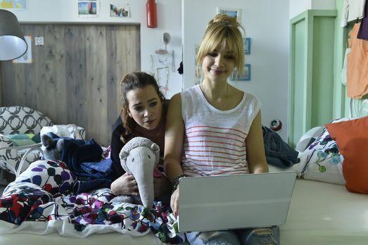 Mila - Vor dem großen Date ist die Aufregung bei Mila (Susan Sideropoulos, r....