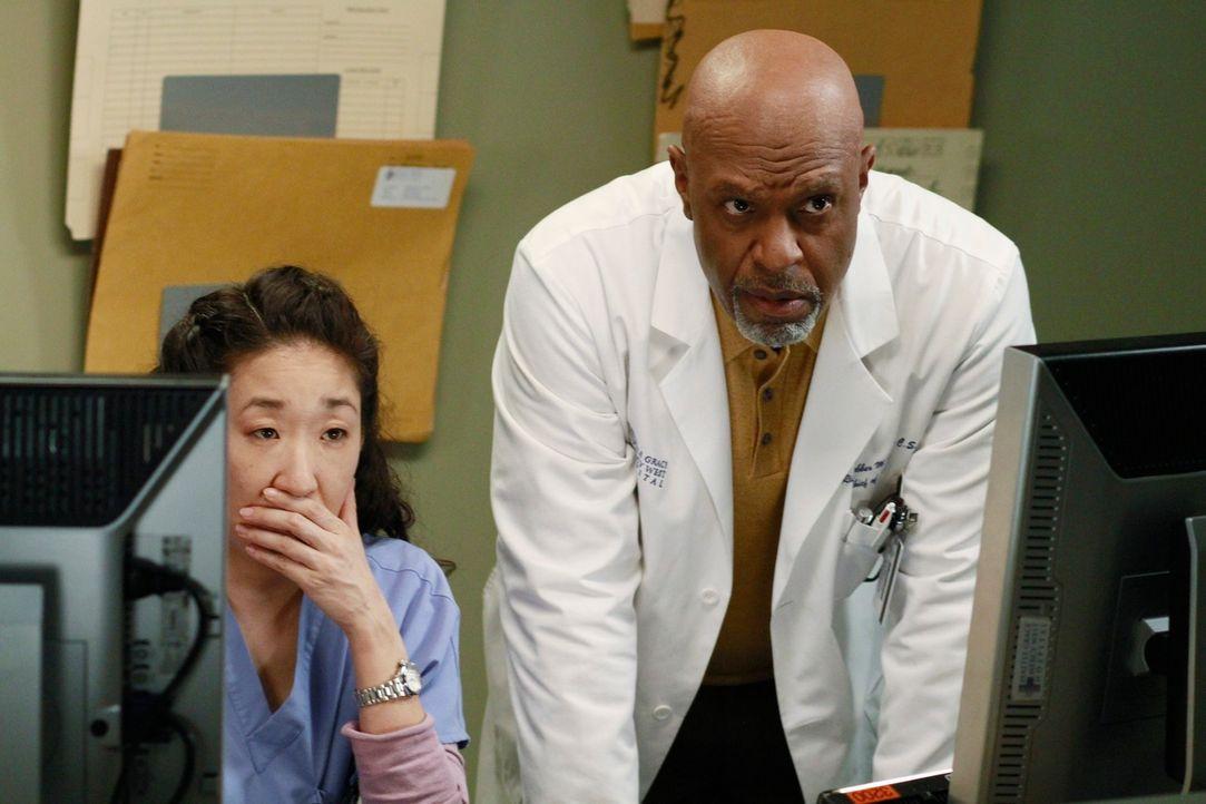 Werden zeuge, als Henry Teddy gesteht er ihr, dass er richtig mit ihr zusammen sein will: Cristina (Sandra Oh, l.) und Richard (James Pickens, Jr.,... - Bildquelle: ABC Studios