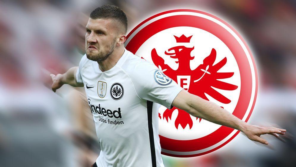 Pokalheld Ante Rebic bleibt bei der Eintracht. - Bildquelle: Getty Images