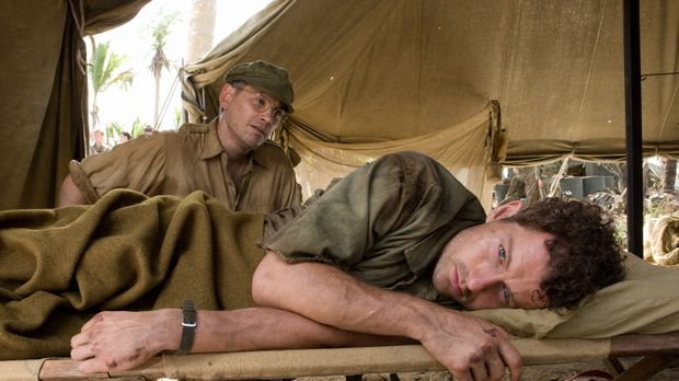 Bob (James Badge Dale, r.), bekommt Depressionen, ist traumatisiert und leide...