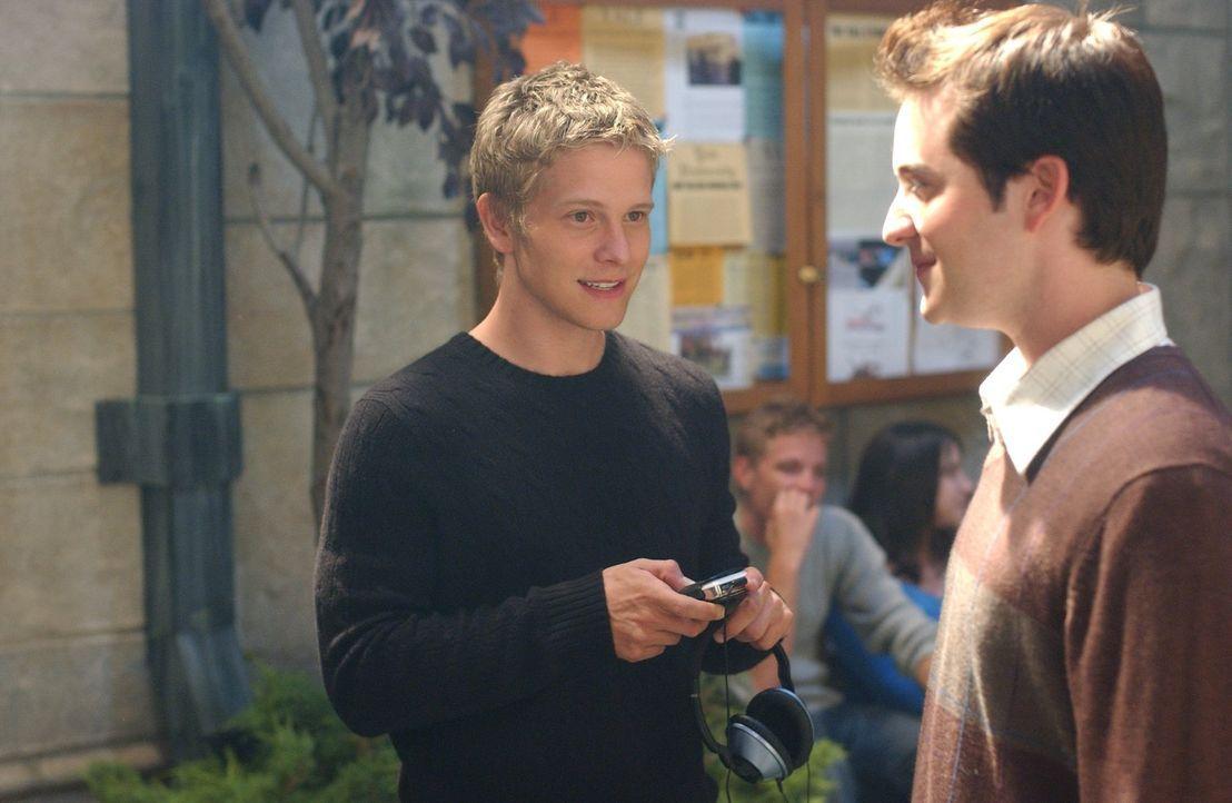 Der reiche Student Logan (Matt Czuchry) hat es faustdick hinter den Ohren. Er weiß, wie er kriegt, was er will ... - Bildquelle: 2004 Warner Bros.