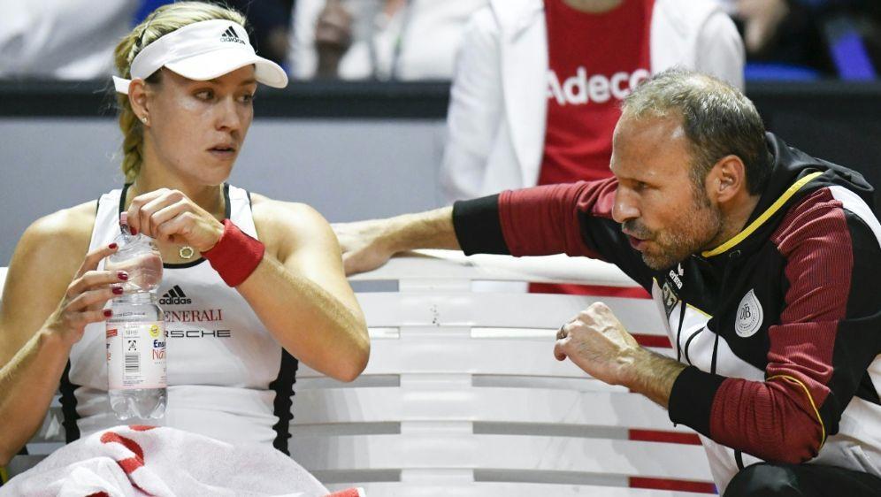 Angelique Kerbers Fed-Cup-Einsatz ist noch offen - Bildquelle: AFPSIDTHOMAS KIENZLE