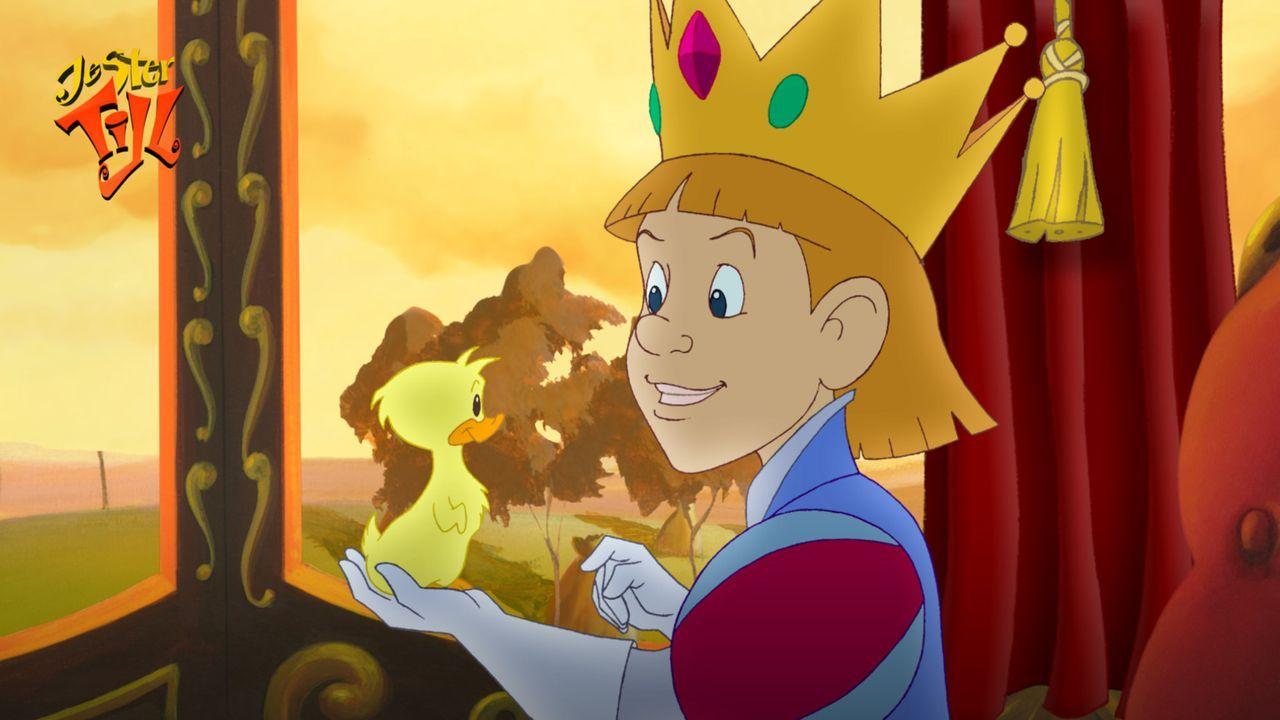 Der kleine König Rupert hat nur noch Augen für seine Ente Ducky und ahnt nicht, dass er in Gefahr ist ? - Bildquelle: Capella Films International