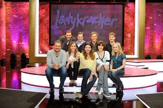 Ladykracher - V.l.n.r., hinten: Daniel Wiemer, Matthias Matschke, Kai Lentrod...