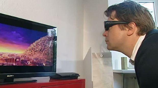 ratgeber video 3d fernsehen f r zuhause sat 1. Black Bedroom Furniture Sets. Home Design Ideas