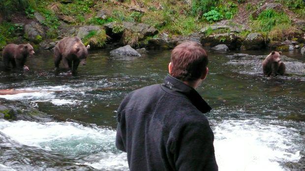 Steve Backshall  muss feststellen, dass das pelzigste Säugetier der Welt zwar...