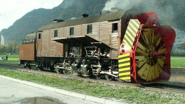 Bild Geschichte - Dampfschneeschleuder