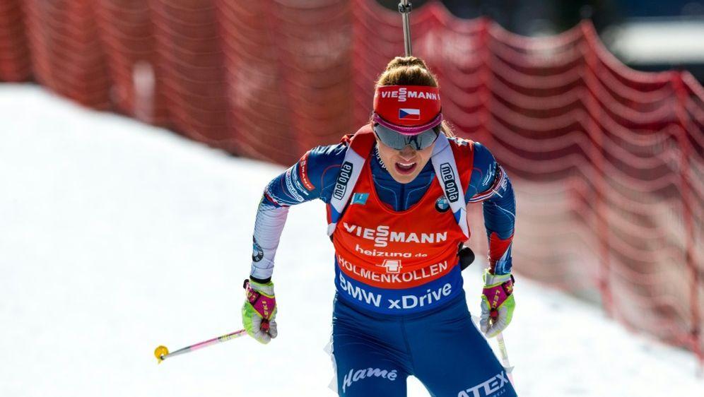Gabriela Koukalova verzichtet auf die Olympia-Teilnahme - Bildquelle: PIXATHLONPIXATHLONSID