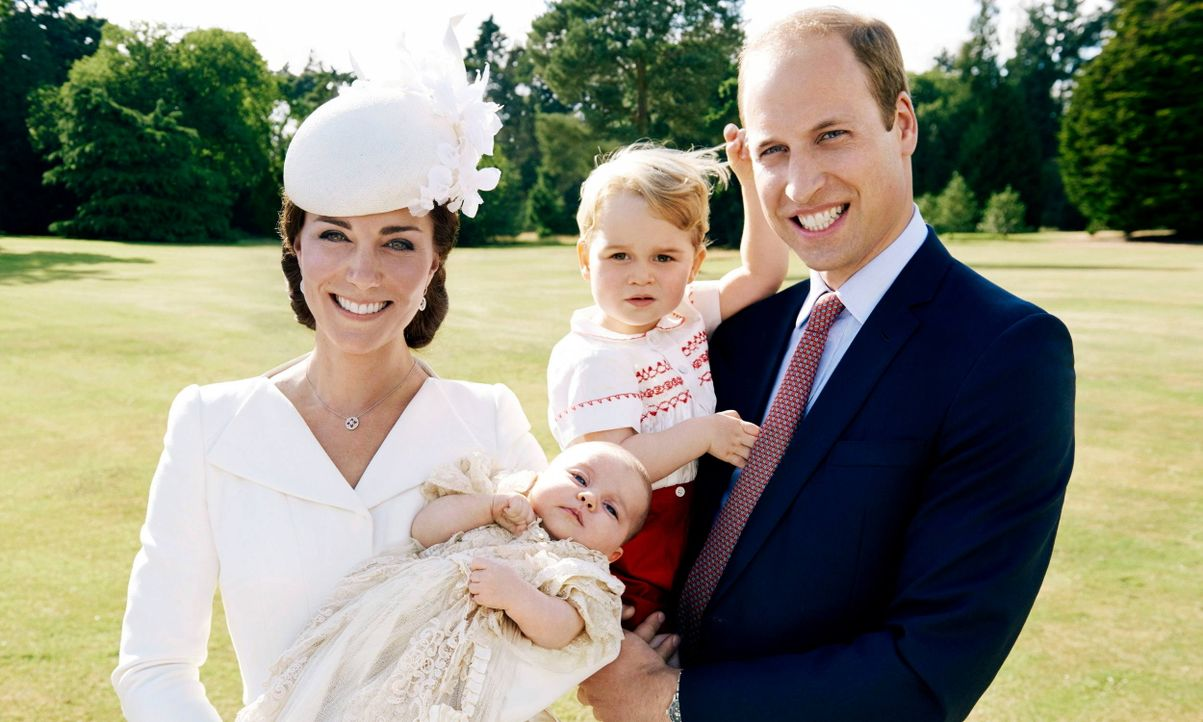 Die Familie von Prinz William - Bildquelle: dpa
