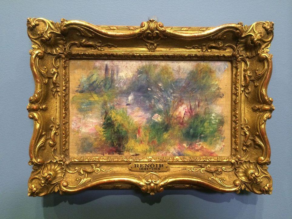 """Im """"Baltimore Museum of Art"""" bestaunt Don Wildman ein Gemälde des berühmten Malers Renoir, das für nur sieben Dollar auf einem Flohmarkt gefunden wu... - Bildquelle: 2014, The Travel Channel, L.L.C. All Rights Reserved."""