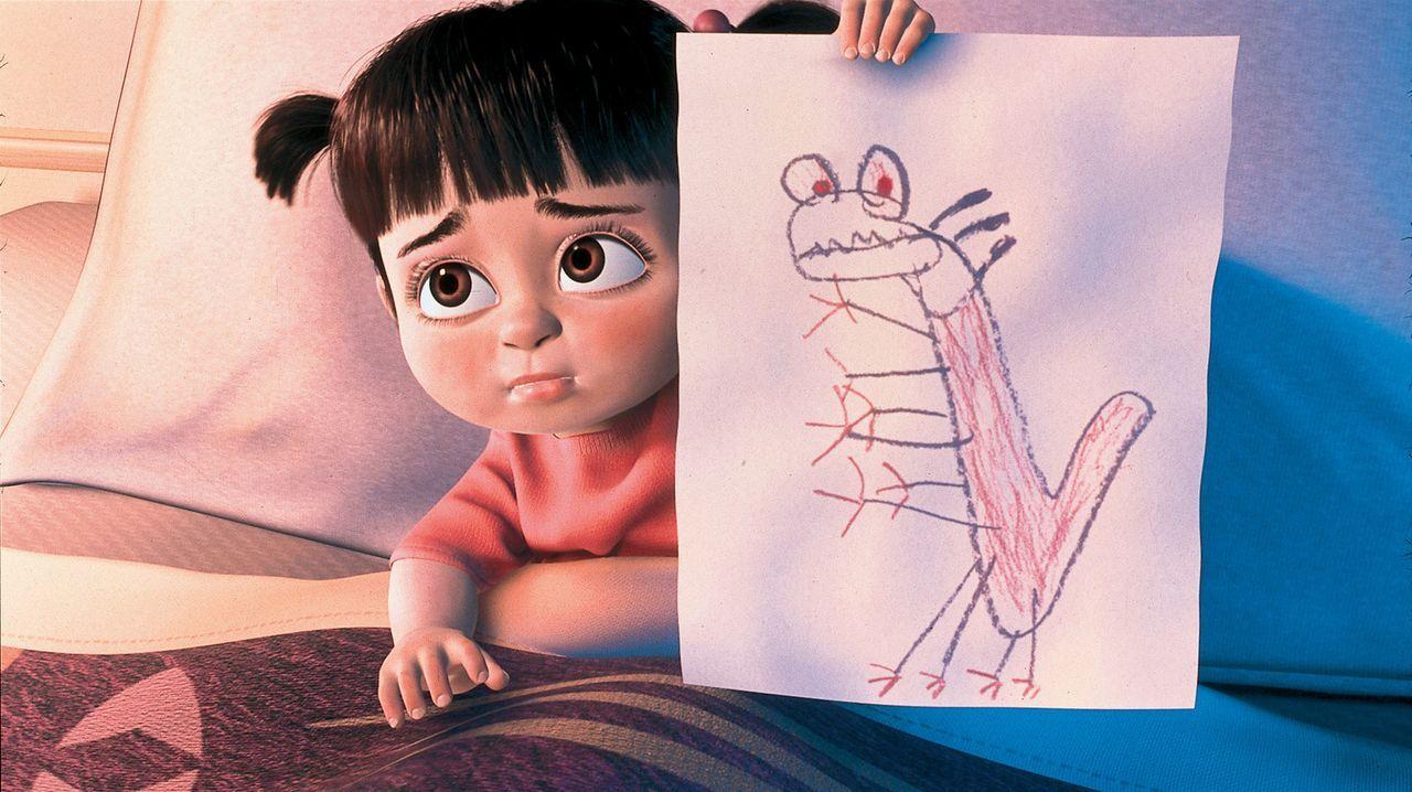 Wenn das nicht der fiese Randall ist, den die kleine Buh (Bild) gezeichnet hat ... - Bildquelle: Buena Vista Pictures