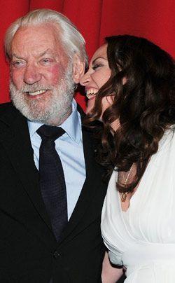 Donald Sutherland und Natalia Wörner - Bildquelle: dpa