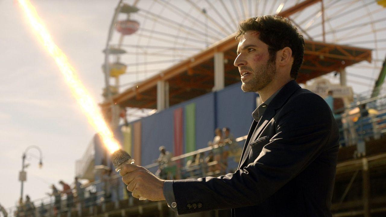 Kann Lucifer (Tom Ellis) seinen Plan in die Tat umsetzen oder macht ihm seine Familie einen Strich durch die Rechnung? - Bildquelle: 2016 Warner Brothers