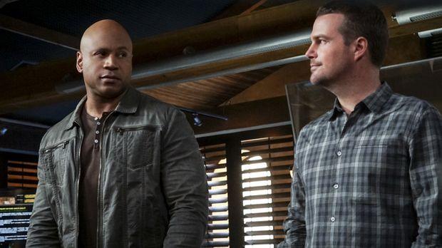 Auf das Team um Callen (Chris O'Donnell, r.) und Sam (LL Cool J, l.) wartet e...